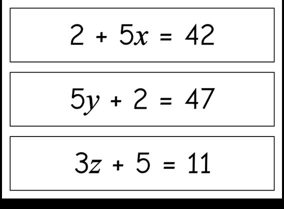 Algebra - Two-Step Equations - Treetop Displays - This free ...