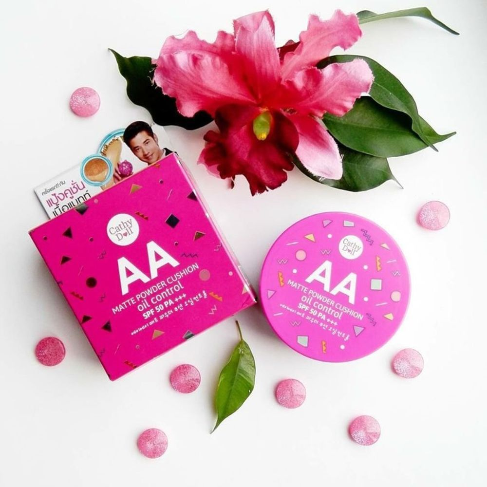 Cathy Doll Aa Matte Powder Cushion Oil Control Spf50 Pa 15g Smooto Tomato Gluta Aura Sleeping Mask Ebay