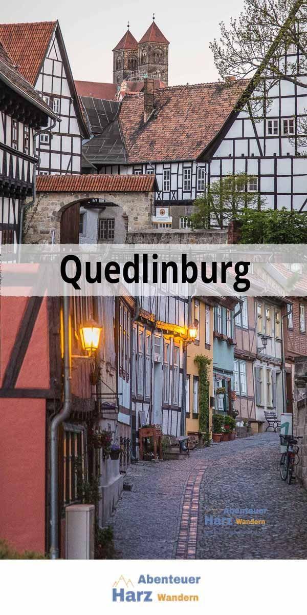 Quedlinburg im Harz bei Nacht #Harz #aroundtheworldtrips
