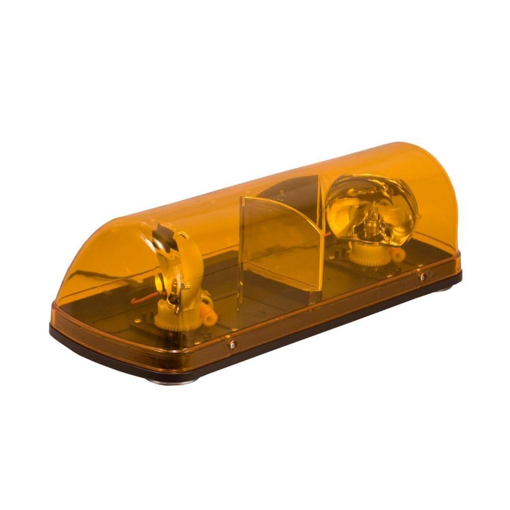 Warning light 7 12 in halogen mini light bar amber with magnetic warning light 7 12 in halogen mini light bar amber with magnetic mount aloadofball Image collections