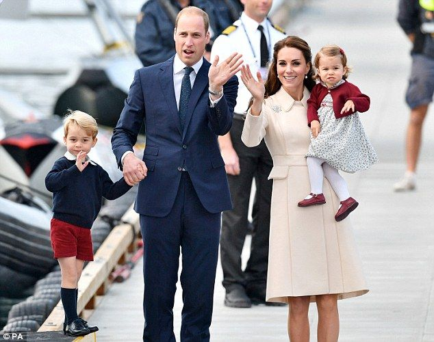 Capital attraction: The Duke and Duchess are reportedly moving their family to Kensington ...