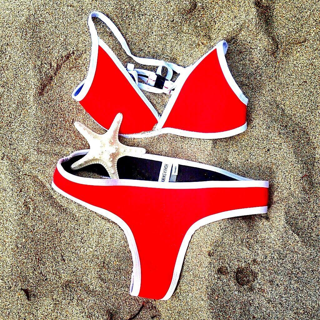 b8489c7b0ec Hoaka swimwear Bikini Hawaii - red Instagram @hoaka_swimwear ...
