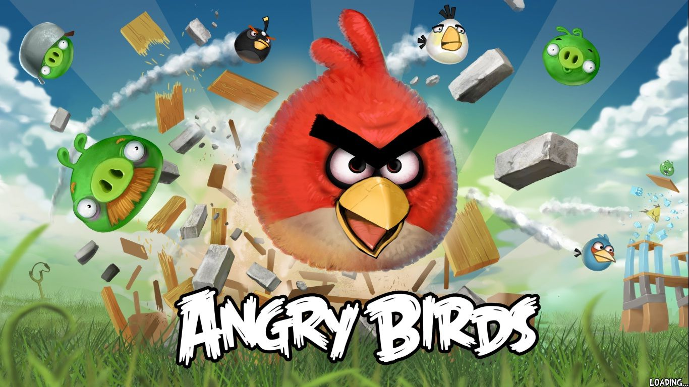 Google Image Result For Wallsave Wallpapers 1366x768 Angry Birds 326782 Pc Game Screen Shots
