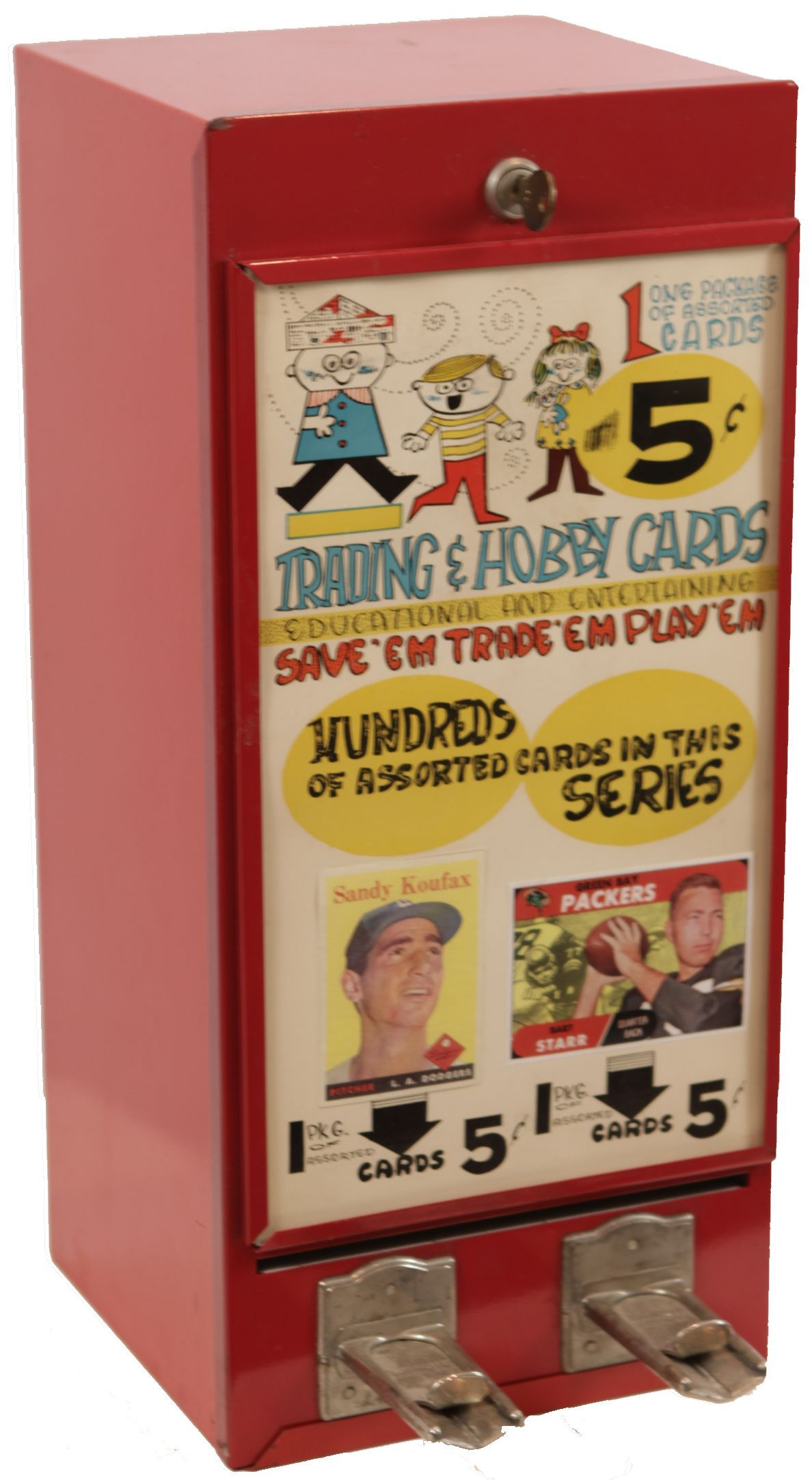 how to swipe a card on a vending machine