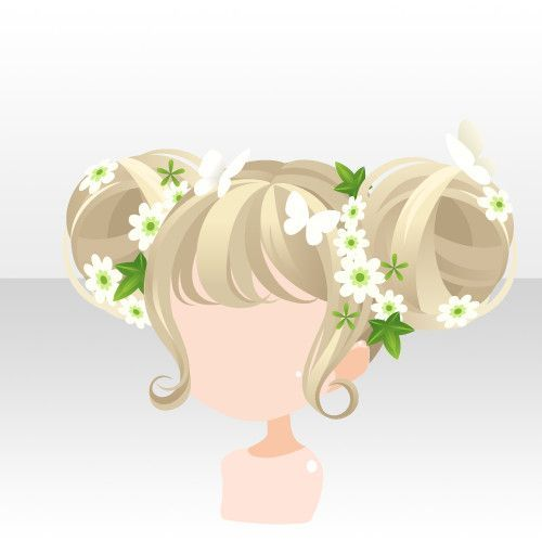 Photo of li.nu attrade gachalist.php?gacha=1789 anime hair double pigtail buns blonde lig…