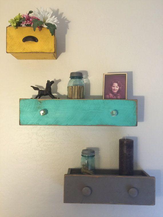 floating drawers floating shelves drawer wall shelf primitive shelf drawer floating drawer. Black Bedroom Furniture Sets. Home Design Ideas