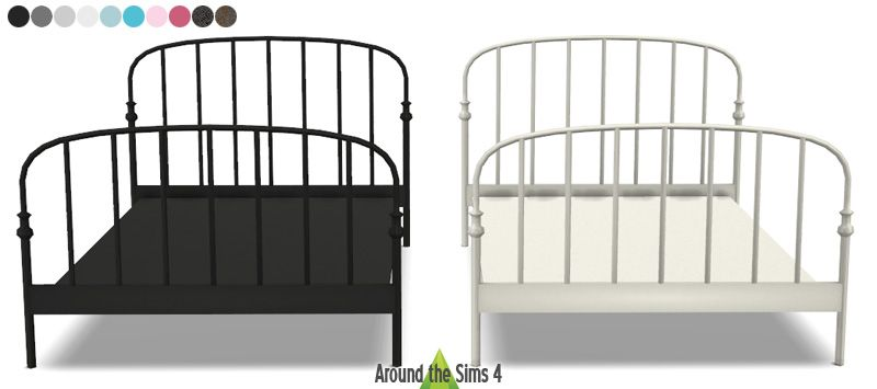 Metal Bed Frame Cc Sims