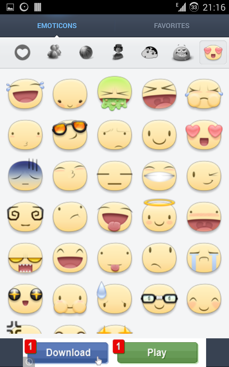5 Sticker emoticons or big emojis Apps for Whatsapp