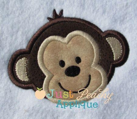 Monkey Applique Design Monogram EVERYTHING Pinterest