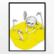Betina Helles tegning
