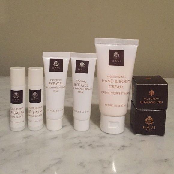 Lot Of 7 New Luxury Davi Napa Skincare Items Nwt Face Cream Face Cream For Men Hand Body Cream