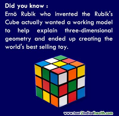 Did you know facts about Rubik's Cube | Geometry, Did you know and ...
