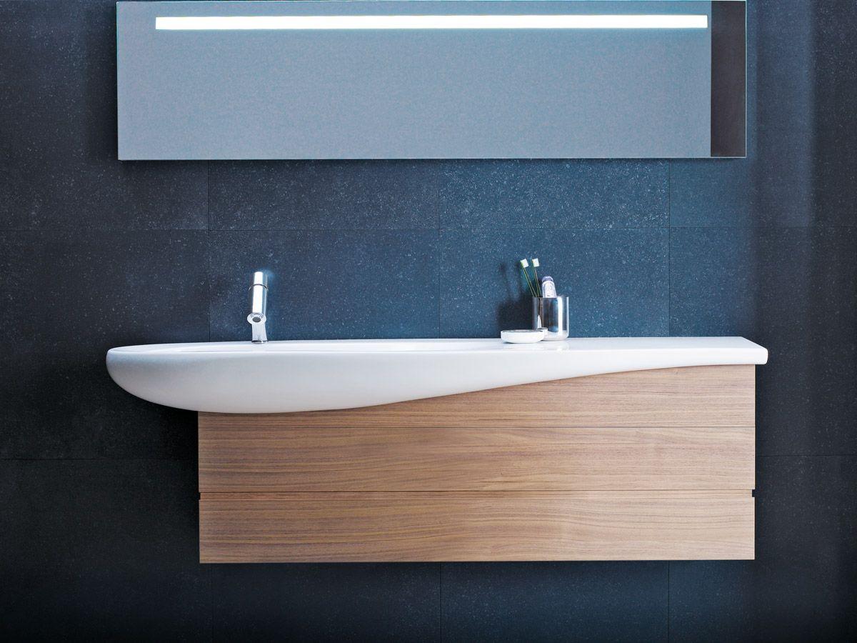 LAUFEN ILBAGNOALESSI One Wall Basin 1600 | Nordic Minimal Bathroom ...