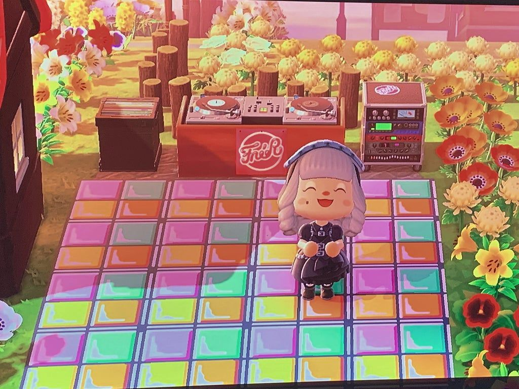 I made a dance floor for my islanders and they have seemed to love ...
