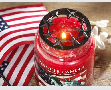Yankee Candle Americana Illuma Lid A Must For Every To Make It Burn Evenly Etc