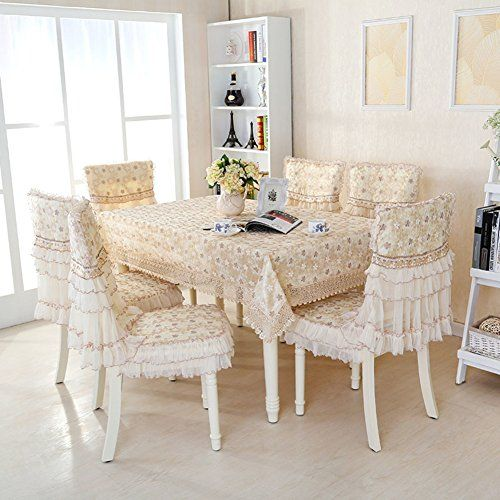 European Style Modern Dining Table Cloth Simple Rectangular Pasta
