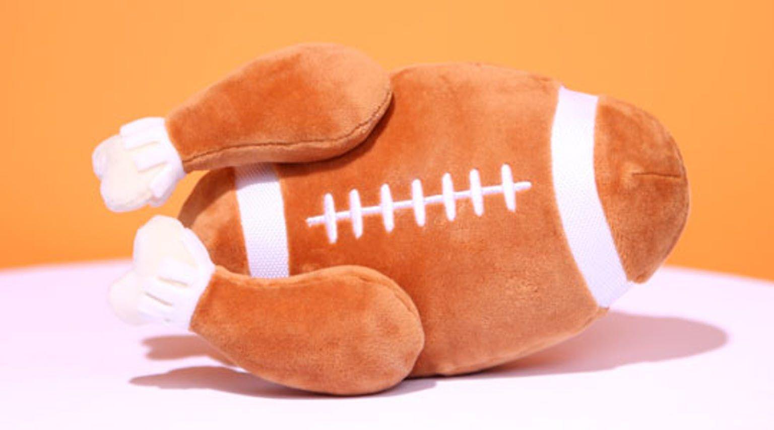 Turkey Day Football Dog Gifts Dog Toys