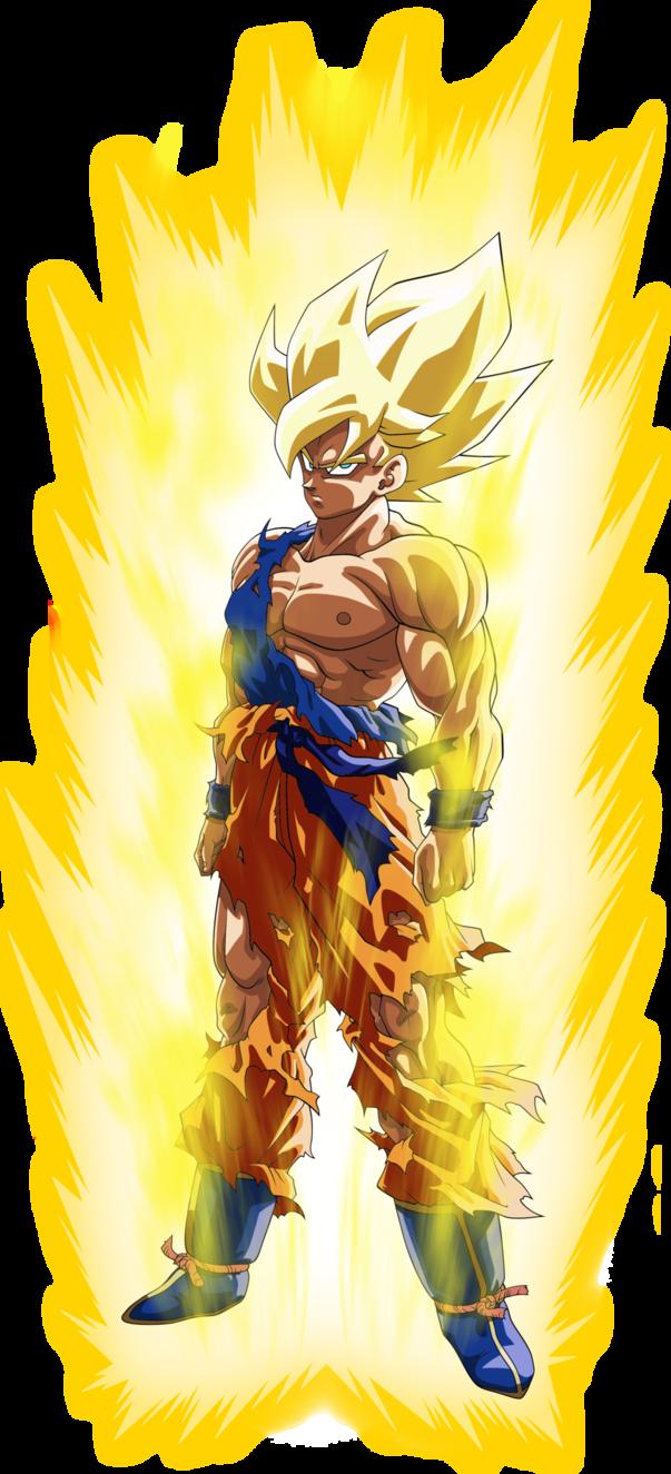 Goku Ssj Namek Super Saiyan Fnf Aura Palette By Benj San Goku Goku Super Saiyan Goku Super