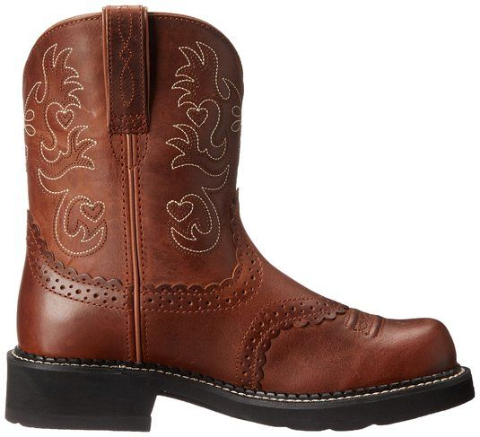 Ariat Women's Fatbaby Saddle Western Boot | Amazon.com