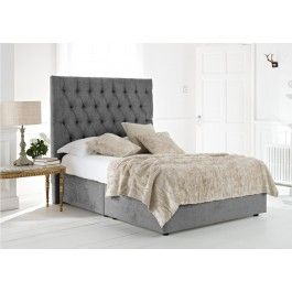 Zea Contemporary Upholstered Bed Frame King Beige King Bed