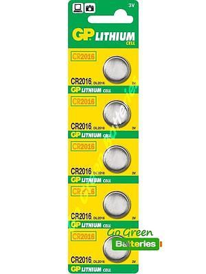 5 x gp #cr2016 3v lithium coin cell #battery 2016 #dl2016,  View more on the LINK: http://www.zeppy.io/product/gb/2/300427937247/