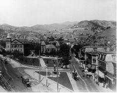 Manitou Springs, Colorado ~ 1882 #manitousprings