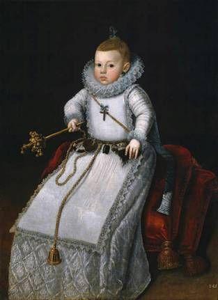 Infanta Margarita Francesca, ca. 1610 (Santiago Morán) (1571-1626) Museo Nacional del Prado, Madrid, P01282