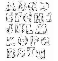 Free printable alphabet stencils can be used in lots of creative ways. Most people download them