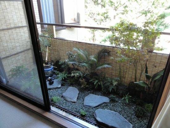 paravent en bambou pour le balcon id es de design feng shui balcons et petites terrasses. Black Bedroom Furniture Sets. Home Design Ideas