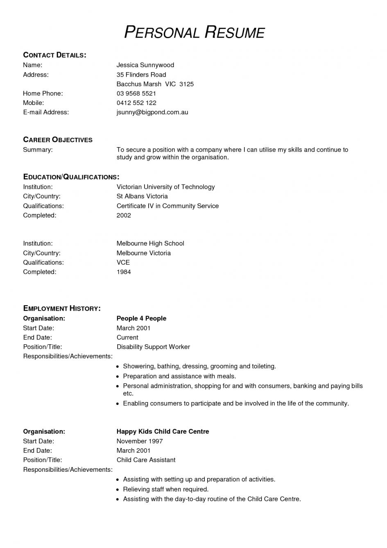 resume objective sample for travel