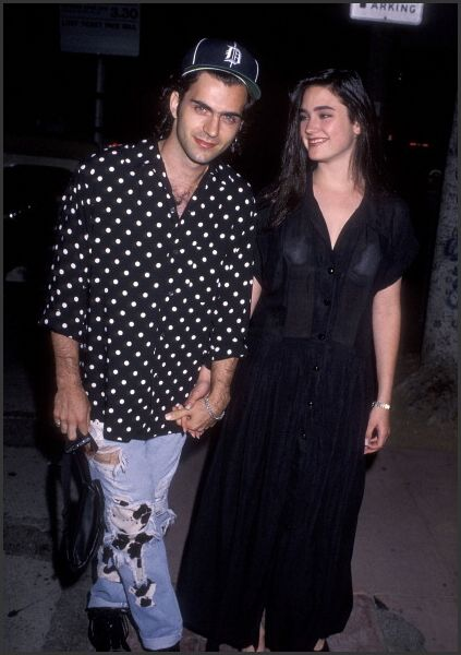 Dweezil Zappa & Jennifer Connelly, 1990 | Jennifer ...