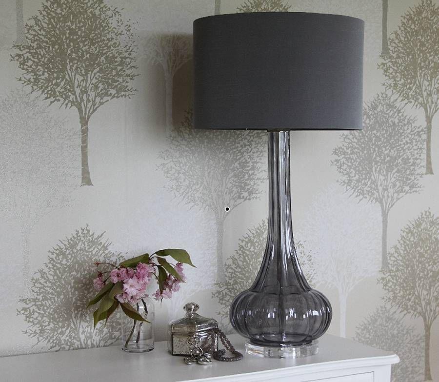 Attractive Darro Glass Table Lamp