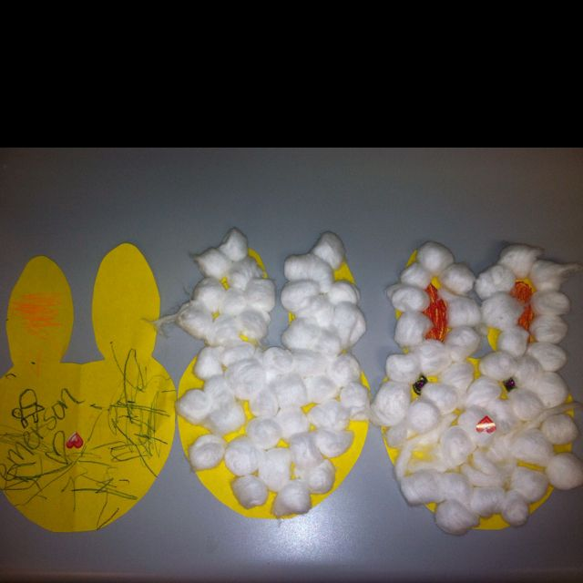 Super Easy Easter Craft For 1 3 And 7 Year Olds No Elmer S For