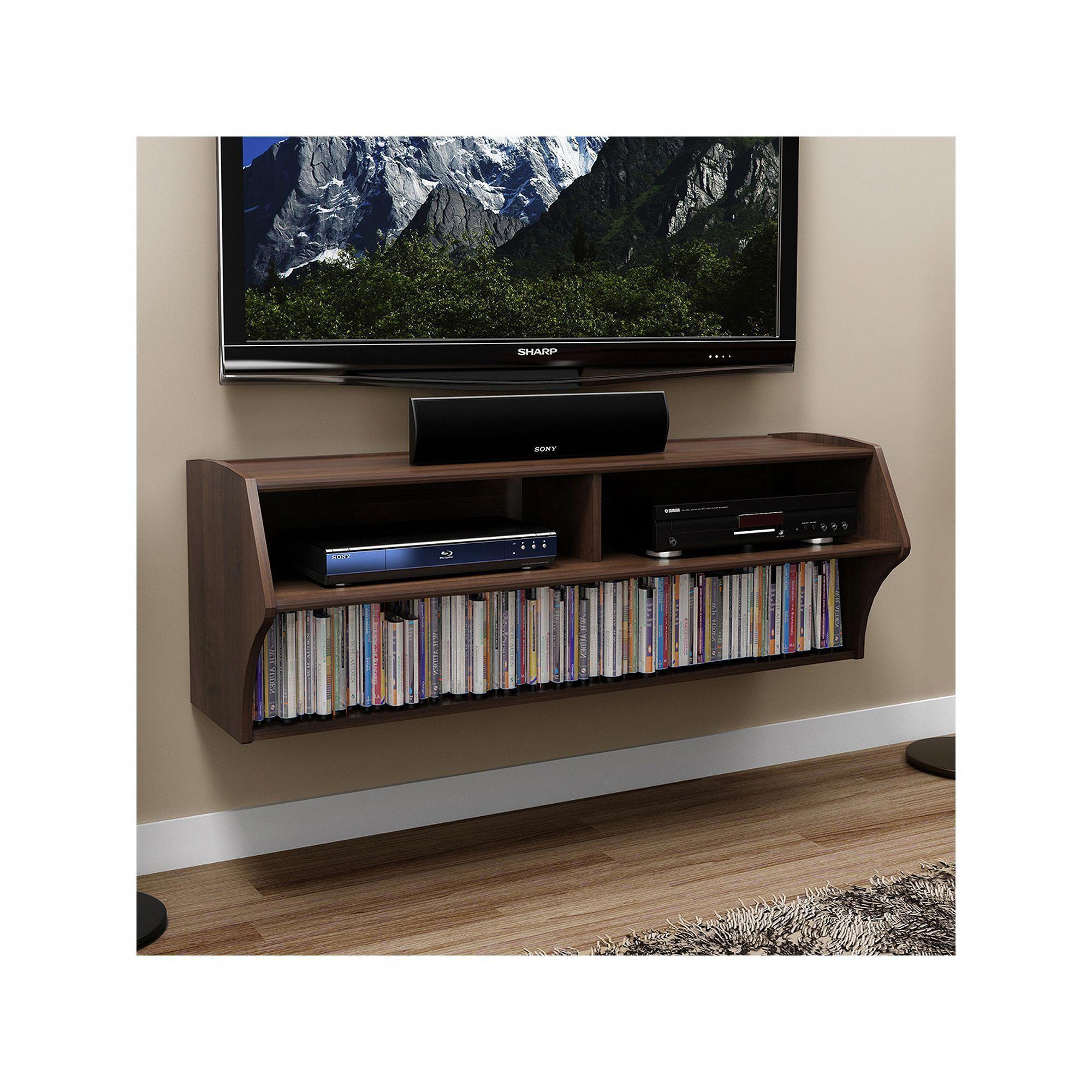 Prepac altus wall mounted entertainment center brown tvwallmount