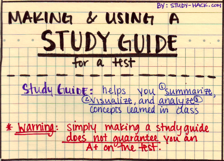 some ideas on how to make a good study guide for a test as rh pinterest com good study guide gst 807 quiz good study guide pdf