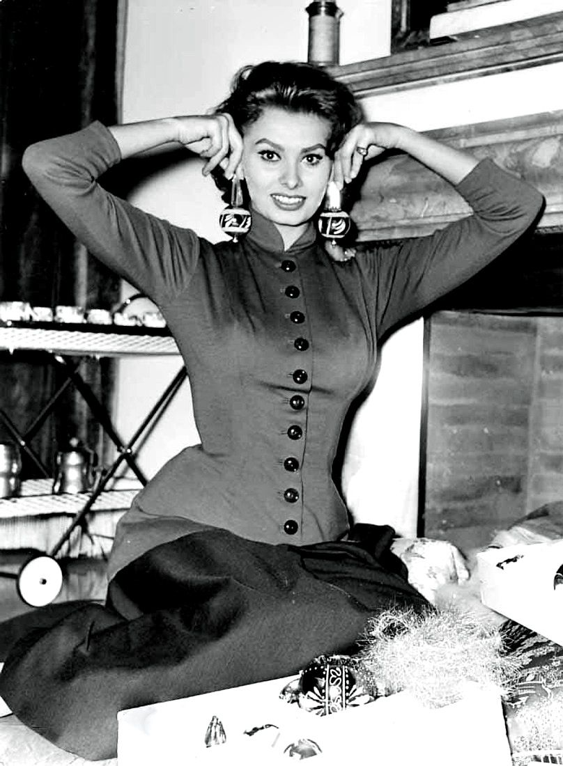 Christmas with Sophia Loren