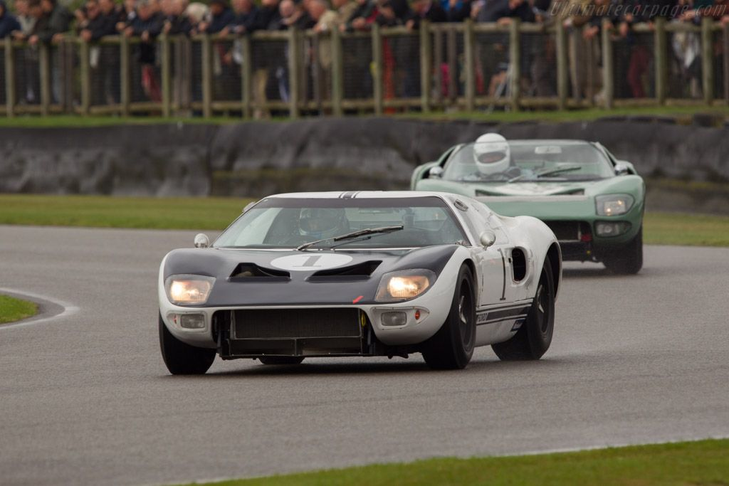 Ford GT Prototype ( 1964 Chassis GT/105 - 2013 Goodwood Revival)