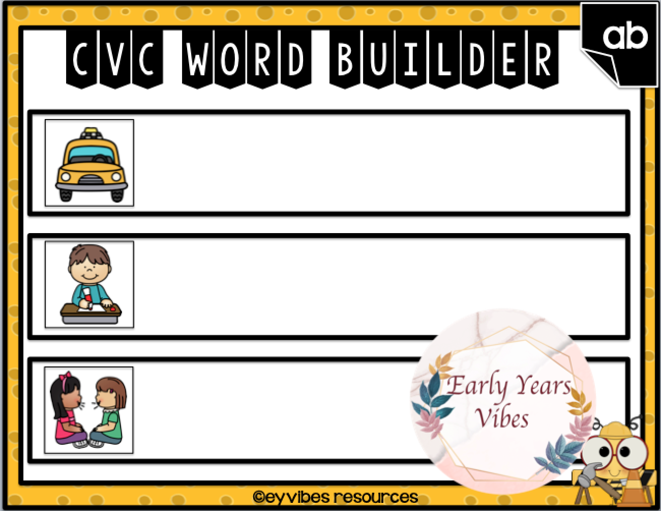 Cvc Word Build And Drill