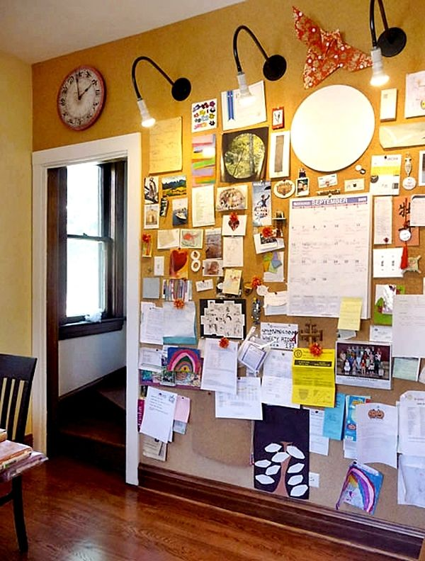 create your inspiration board impressive magazine cork on inspiring workspace with a cork wall creating a custom cork board for your home id=13932