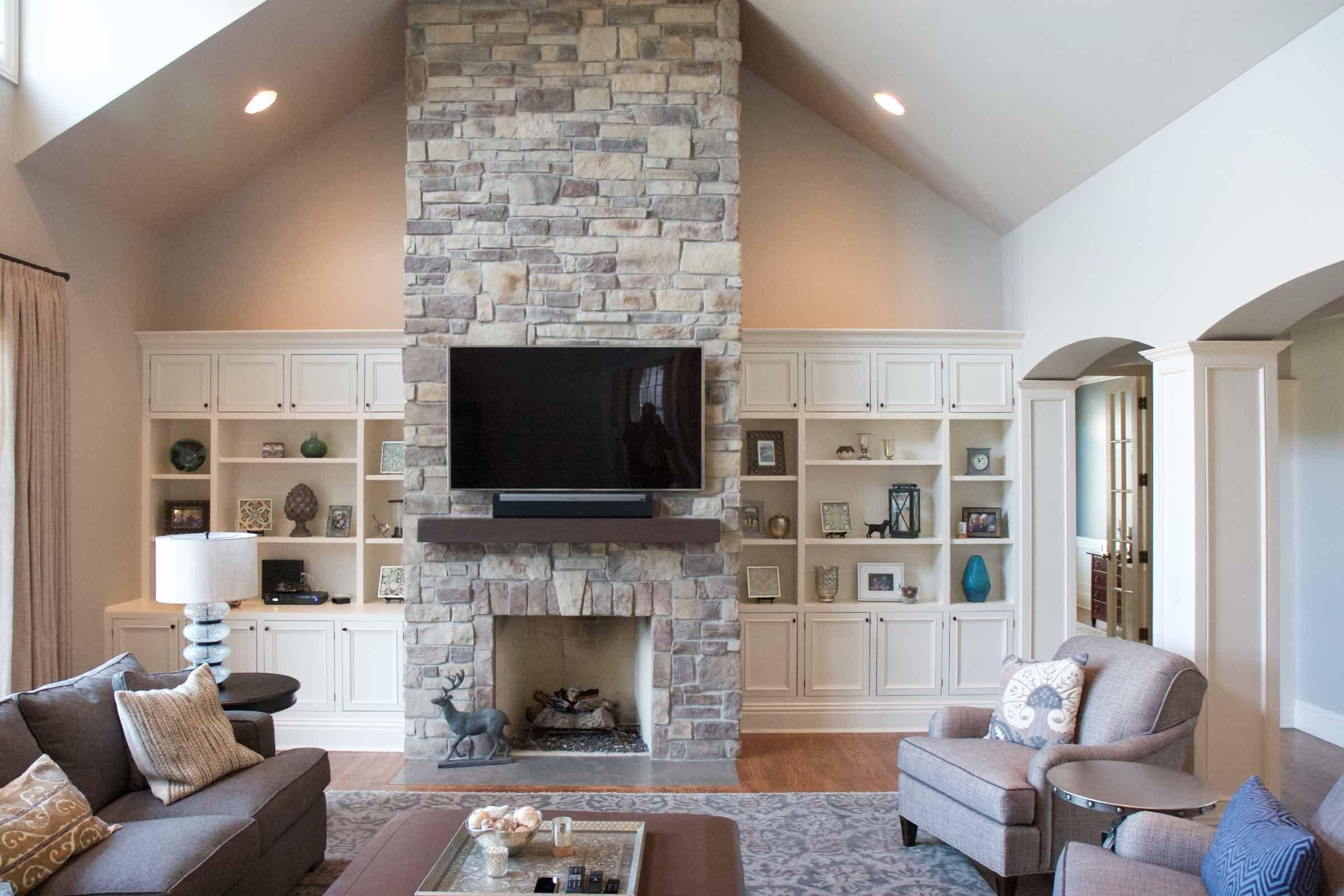 Pin By Latoya Wall On Living Room Stone Veneer Fireplace Stone Fireplace Designs Home Fireplace