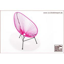 Photo of Original Acapulco Chair – violet – designer armchair for outdoor and indoor 1a direct import