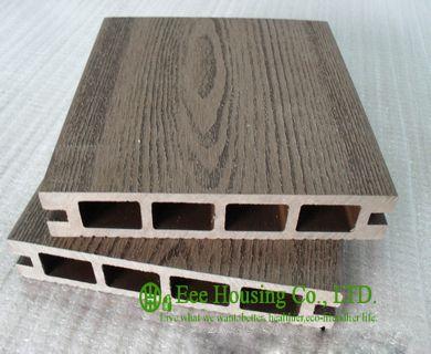 Holz Kunststoff Composite Bodenbeläge, Außen WPC Decking Für Balkon,  Einfache Installation