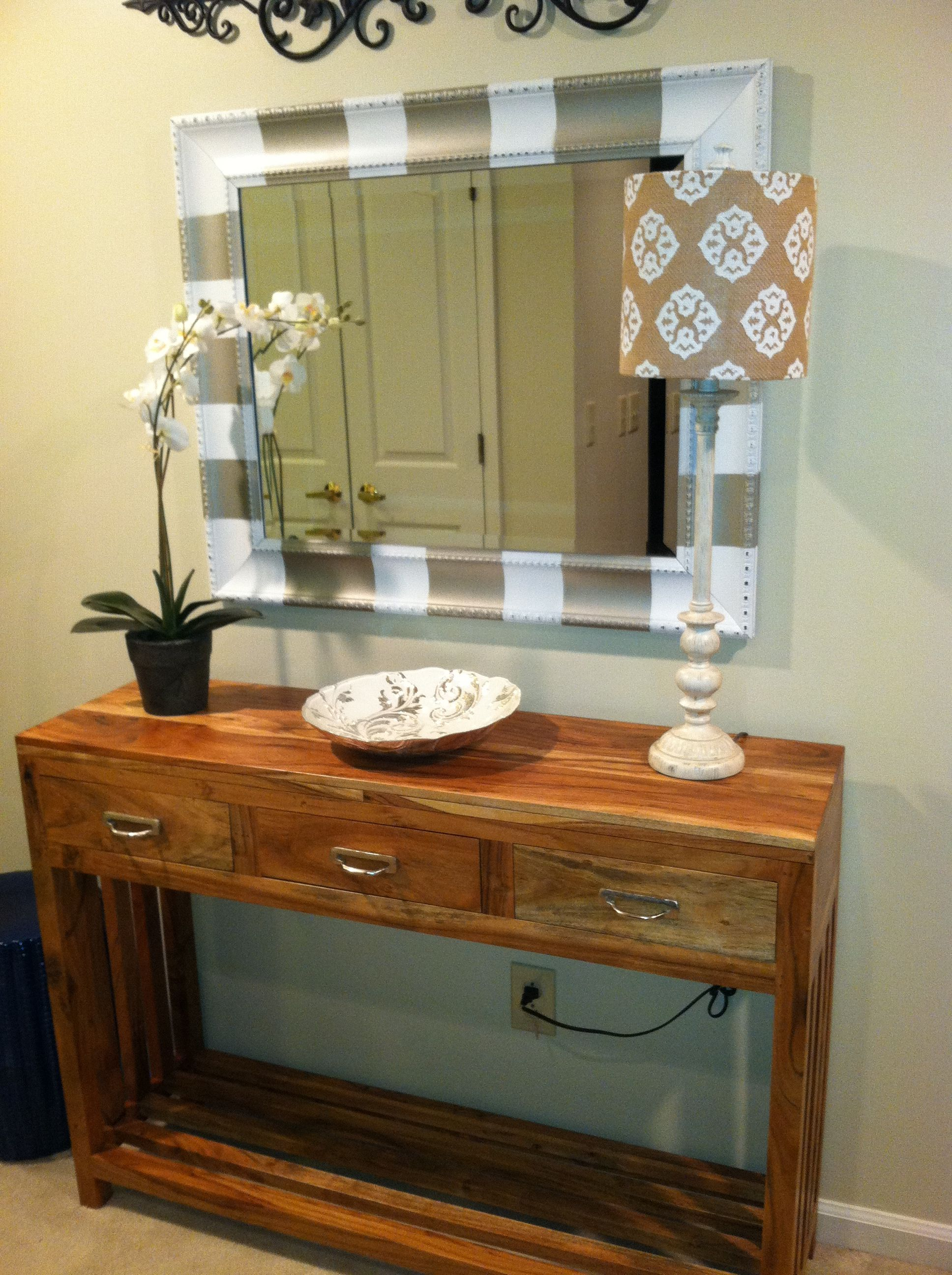 Tj maxx find entryway table dream home pinterest entryway tj maxx find entryway table geotapseo Choice Image