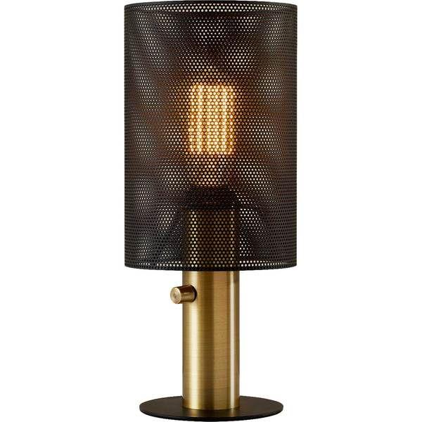 Niort Table Lamp Black Antique Brass Black Table Lamps Lamp Table Lamp