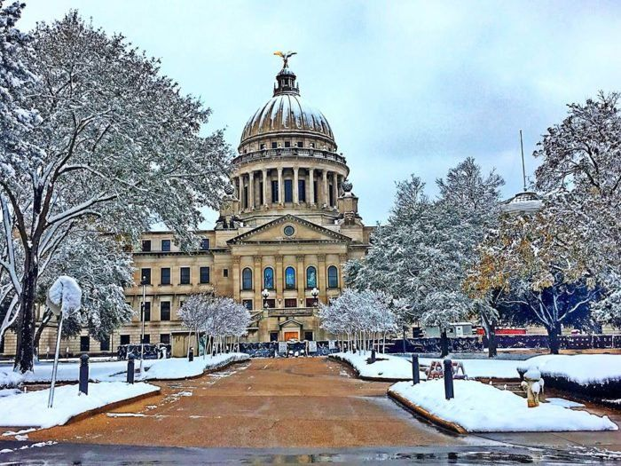12 Incredibly Beautiful Photos Of Mississippi From The 2017 Winter Snowstorm Ferry Building San Francisco Mississippi Photo
