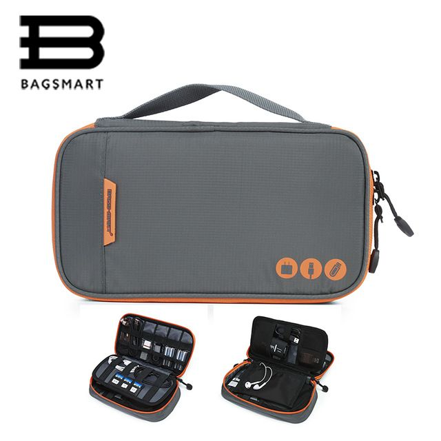 Bagsmart Travel Accessories Electronic Portable Bags For Phone Data Cuble Sd Card Usb Cable Earphone