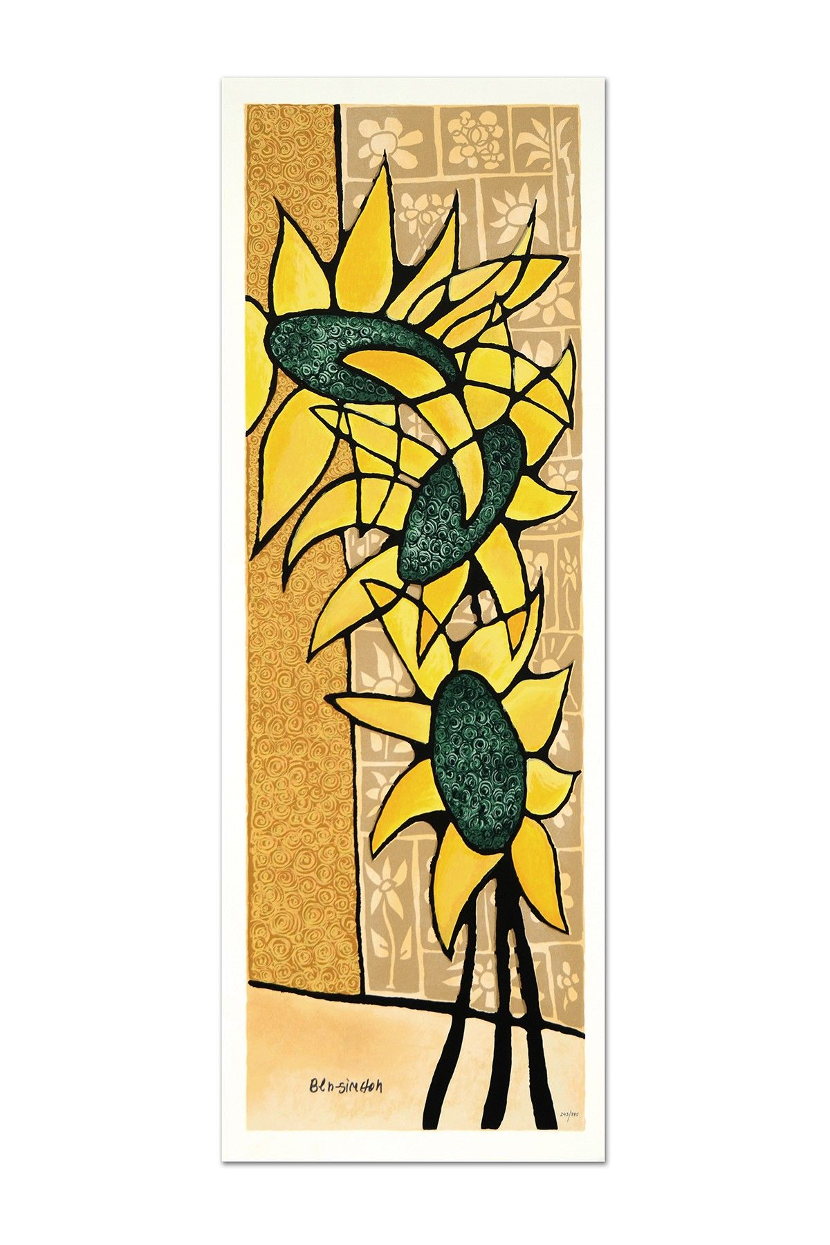 Sunflower Ecstasy Limited Edition Numbered & Hand Signed Fine Art by ...