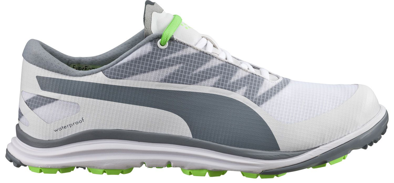efe121b2057b2a Puma BioDrive Golf Shoes White Tradewinds Green Gecko 187581-08 Mens ...