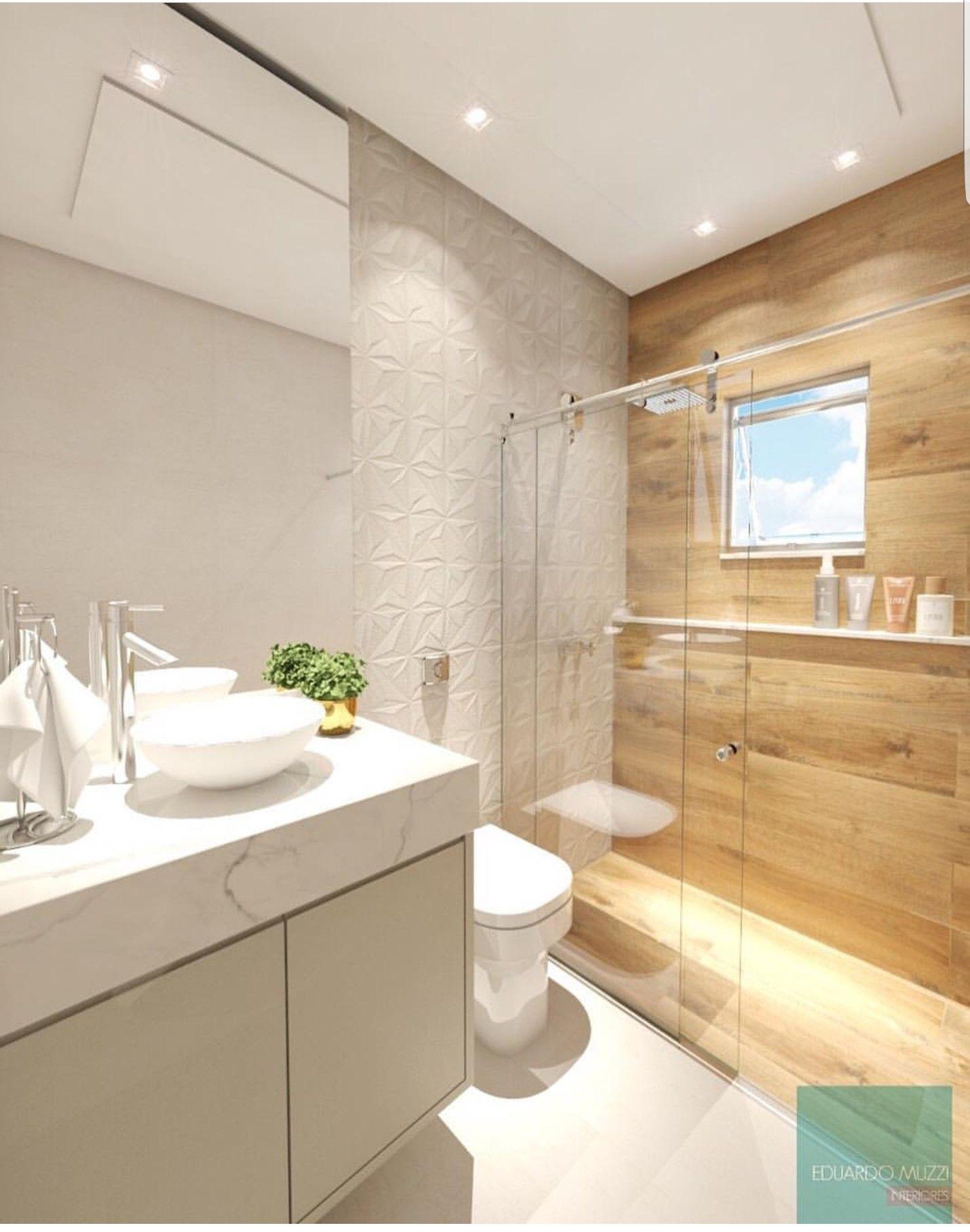 Pin de cecilia Longhi em casa | Banheiros modernos ...