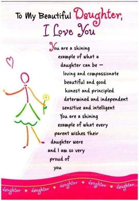 Proud Daughter Birthday Quotes : proud, daughter, birthday, quotes, Beautiful, Hailey, Chloe, #MotherDaughterGifts, Children, Quotes,, Daughter